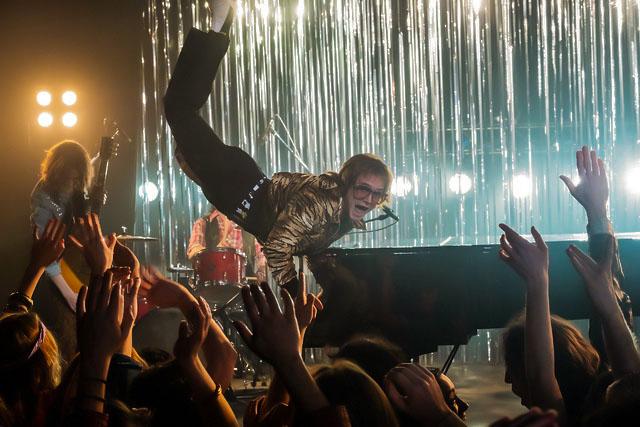 Taron+Egerton+plays+Elton+John+in+Rocketman+from+Paramount+Pictures.