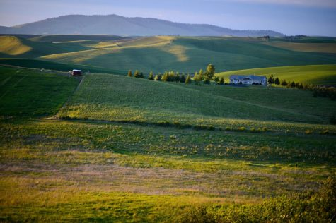 Sunsets from the Palouse on May 31, 2016.