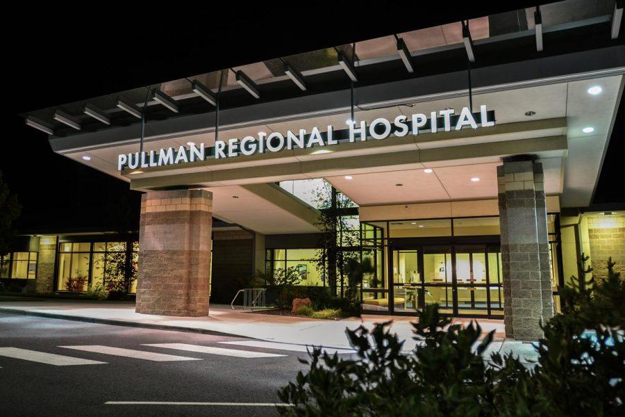 Pullman Regional Hospital on Sept. 29 2014.