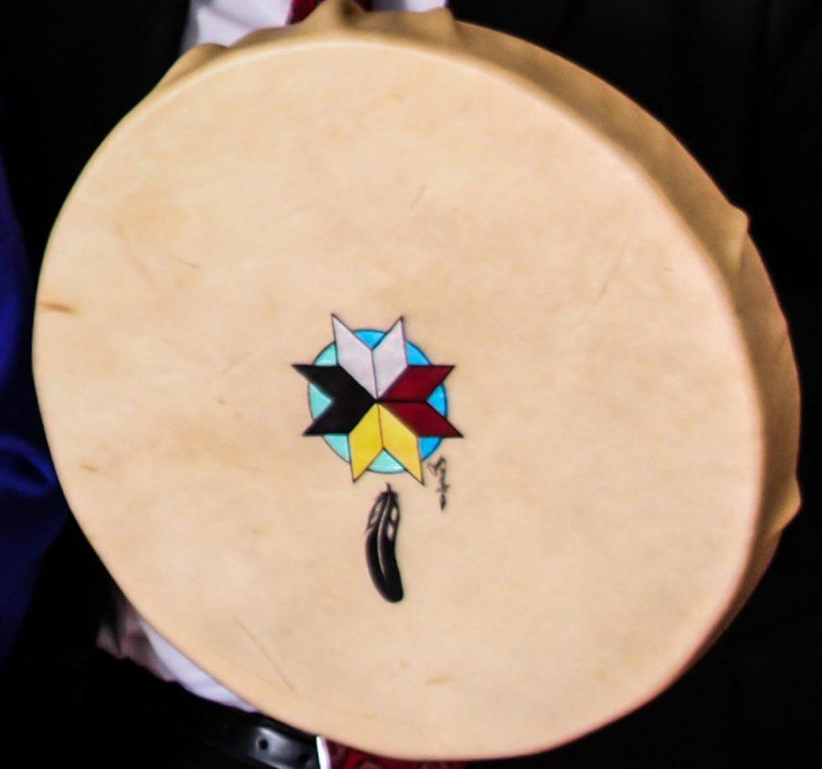 Tulalip elder performs Indigenous songs, stories