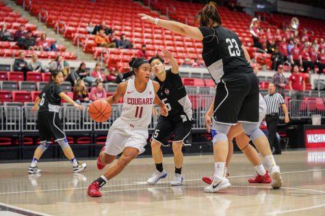 WSU escapes exhibition game with win