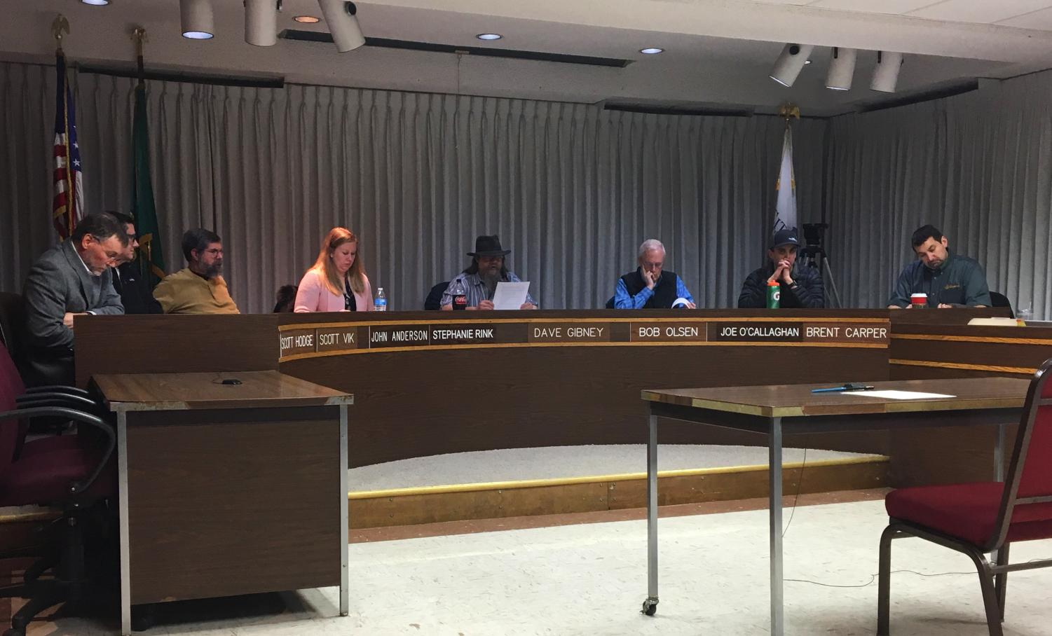 The commission is considering 36,620 square feet of land at 50 NW Terre View Drive in the plan and classification. The land will not be reclassified and will remain a residential area.