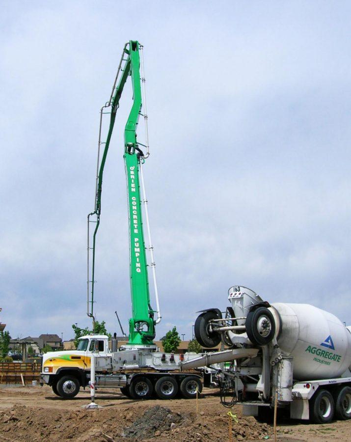 Concrete truck,