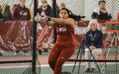 Track and field travels for regular season end