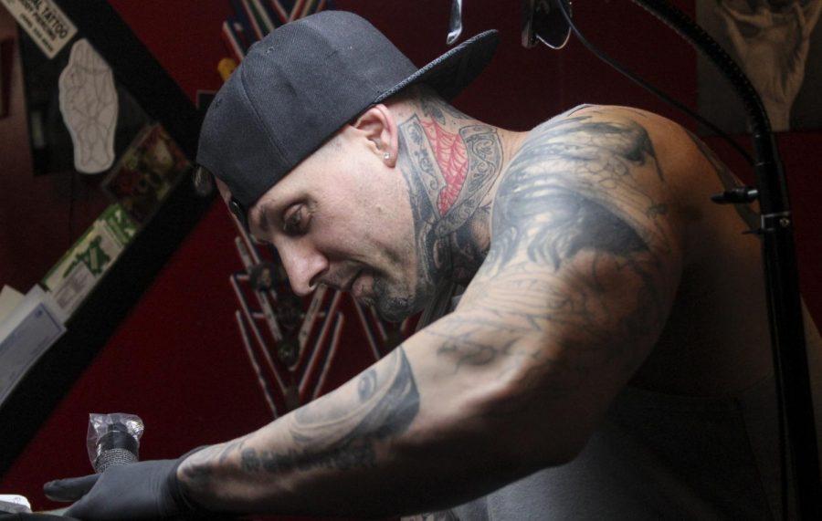 Chris Peltier, tattoo artist at Blood Diamond Ink, shares stories from the beginning of his career as a tattoo artist.