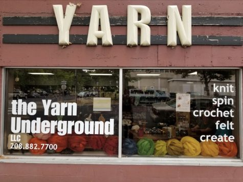 Yarn Underground started after Owner Shelley Stone gained inspiration from a Portland yarn store. Now, Stone said she is navigating COVID-19 and the unknowns that come with it.