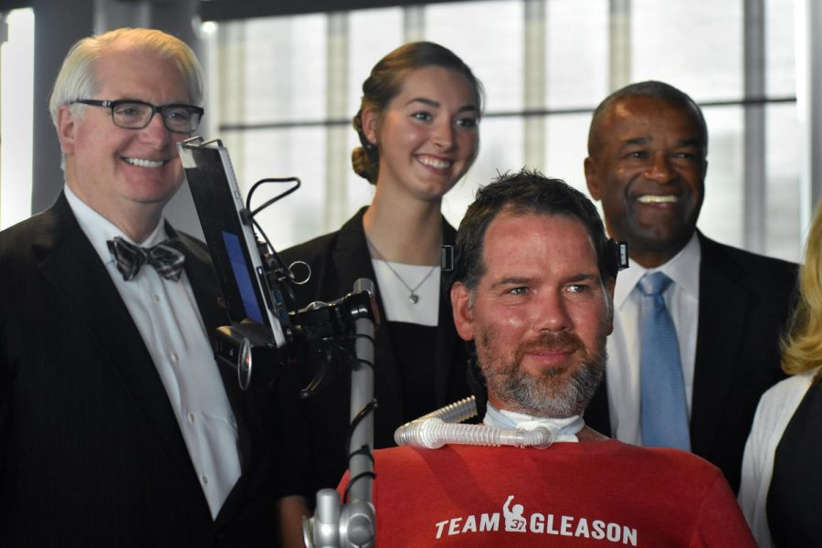 Former WSU football player Steve Gleason was diagnosed with ALS in 2011. Since then, he became an advocate for those with Lou Gehrig's disease.