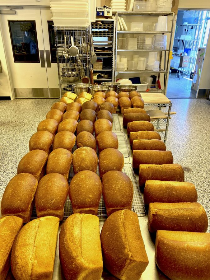 The WSU Bread Lab works with farmers and bakers. About 60 loaves are delivered monthly to the Skagit Friendship House.