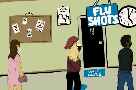 Flu shots are available from now until October.