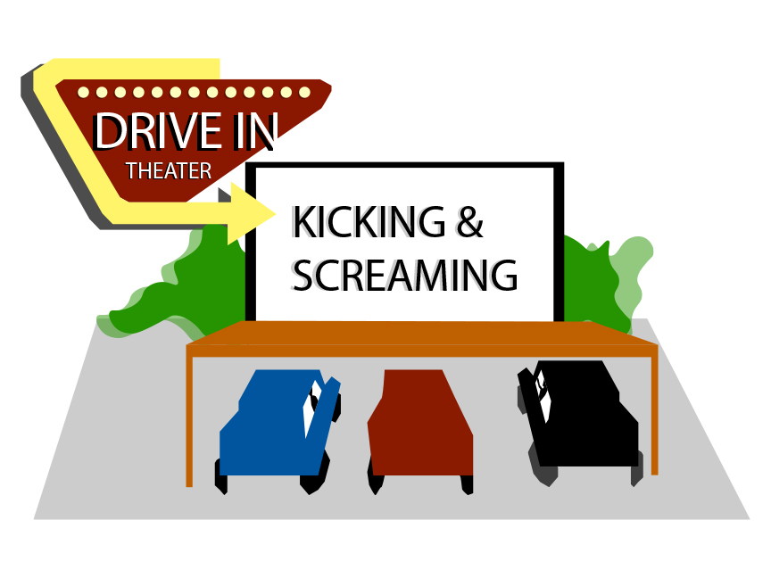 """Kicking & Screaming,"" starring Will Ferrell, will be shown Nov. 6 outside of the Evangelical Free Church of the Palouse. Tickets cost $20 per car."