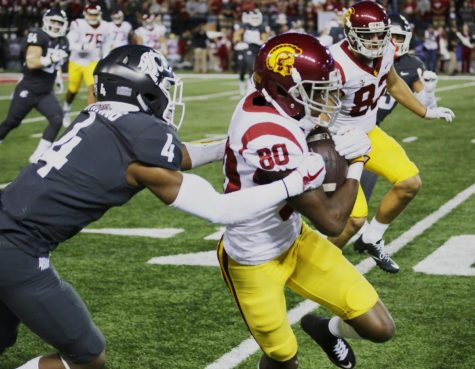 No. 15 USC stays at the top of the rankings after they beat WSU 38-13.