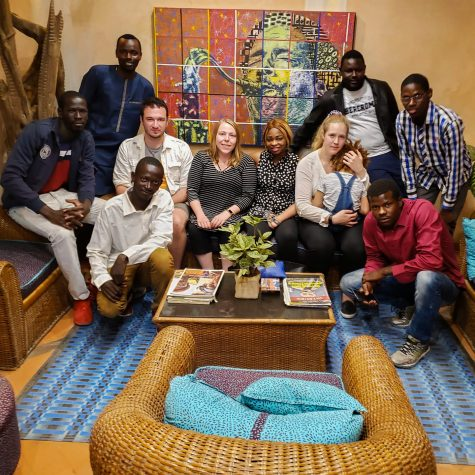 """I think one of the biggest reasons why I've taken this project in Senegal so far is because it's a great way for me to come home at the end of the day and get to use my creativity and passion,"" said WSU alumnus Andrew Stephenson."