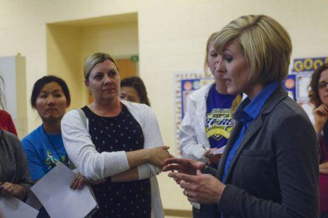 Stephanie Bray, principal of Franklin Elementary School, said students
