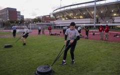 WSU Army ROTC cadets attend in-person physical fitness training three times a week and in-person leadership labs once a week.
