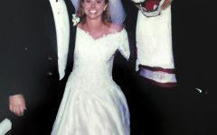 Butch surprised a few unsuspecting Husky alumni at Kophs' wedding
