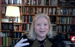 Princeton University professor Kim Lane Scheppele gave a presentation on autocracies during a Thomas S. Foley event Tuesday.