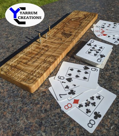 From mechanical engineering to cribbage boards