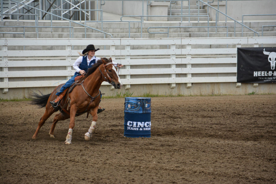Josie Goodrich, freshman criminal justice and multimedia journalism double major, said her ultimate goal in rodeo is to make it to National Finals Rodeo, where the top 15 people in the world compete.