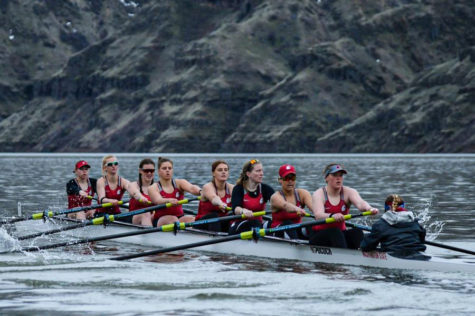 The WSU rowing team will have its first race on the Snake River this season