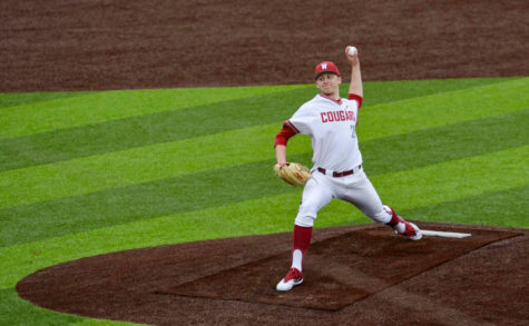 The WSU baseball team will have a three-game series against Oregon followed by a single game against Seattle U.