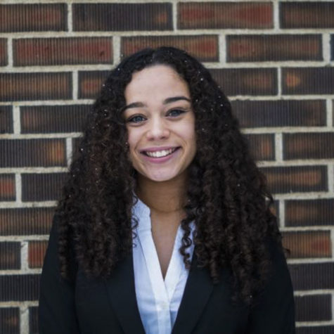 Through her role as ASWSU chief of staff and finance, Jhordin Prescott manages staff members, collects reports, supports the ASWSU president and vice president, and weighs in on financial decisions the university wants to make.