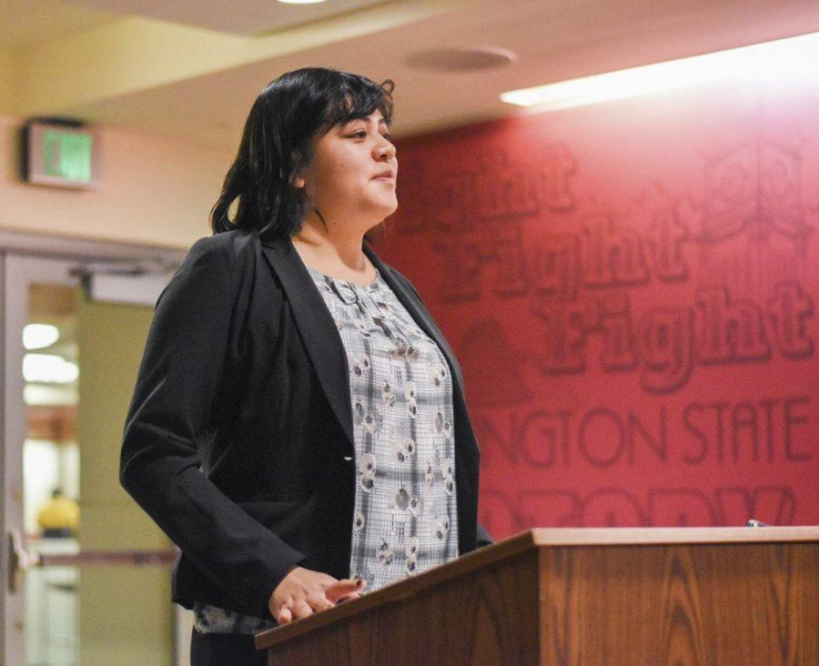 WSU senior Samantha Cruz Mendoza said the biggest bill she worked on was Senate Bill 6561, which created an undocumented student financial aid program.