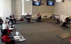 Board of Regents meeting screenshot