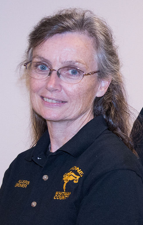 Whitman County Coroner Annie Pillers gets final say about a persons cause of death.