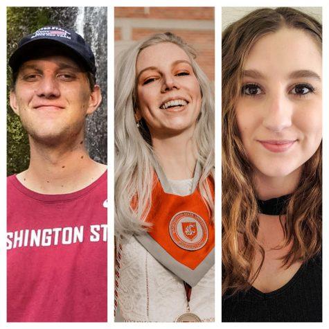 Sydney Almgren, Keisha Ensey, and Scott Anderson win top spots for Mi ciudad en 100 palabras competition.